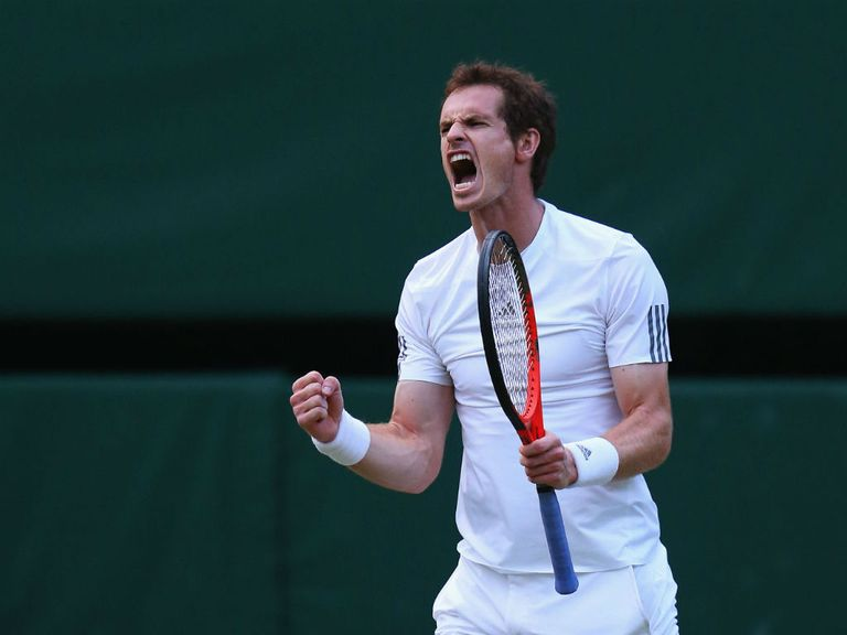 Andy Murray: Will contest the Wimbledon final on Sunday