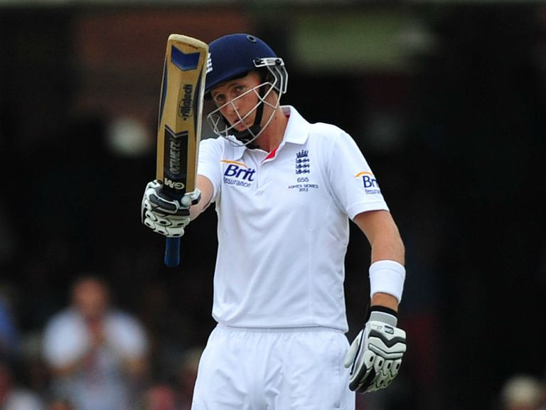 Joe Root: Made 180 against Australia at Lord's last summer