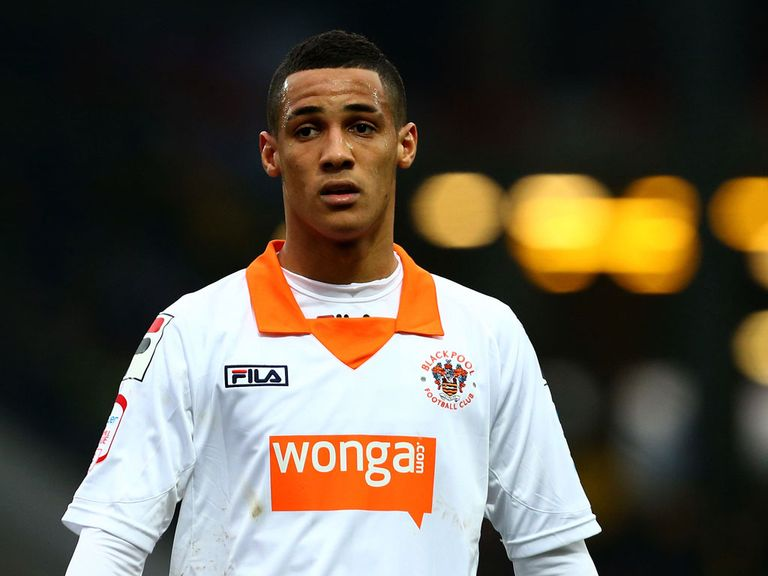 Tom Ince: Enjoying life at Blackpool