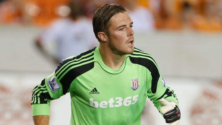Jack Butland: Aware of the need to get games if he is to improve further