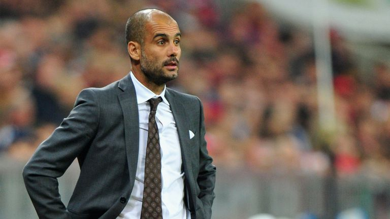 Pep Guardiola: Happy with his side's change of style