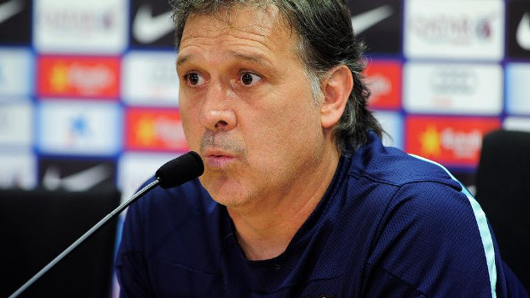 Tata Martino: Barcelona coach says speed is key
