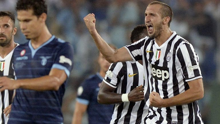 Giorgio Chiellini: Would have prefered not to face Lazio so soon