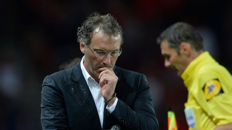Laurent Blanc: Looking for first win