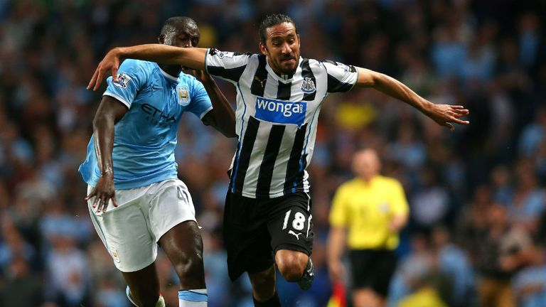 Jonas Gutierrez: Looking for Newcastle to respond positively to Manchester City setback