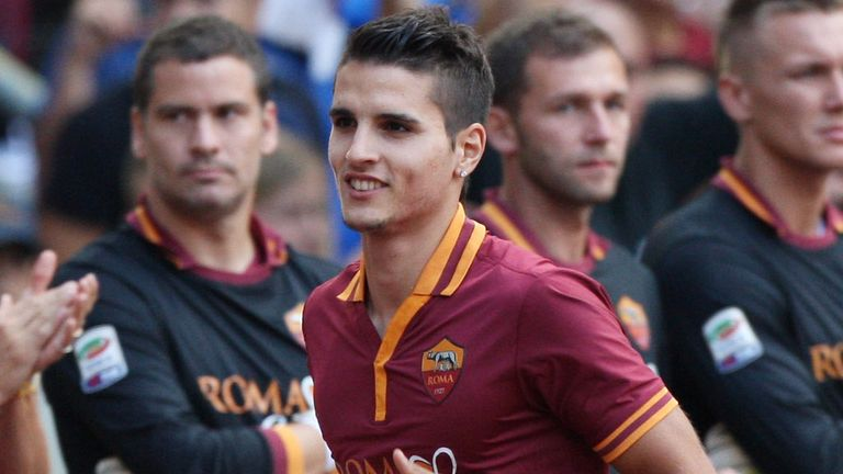 Erik Lamela: Roma forward has been linked with a move to Tottenham
