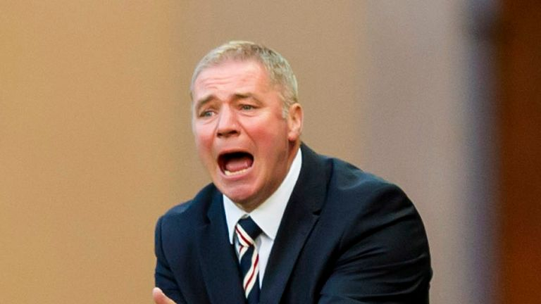 Ally McCoist: Manager's sole focus is on winning the league