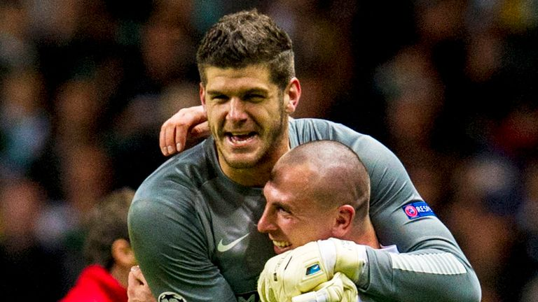 Fraser Forster: Unsure of his future