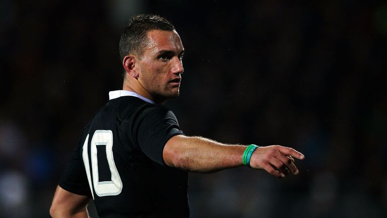 Aaron Cruden: in fine form