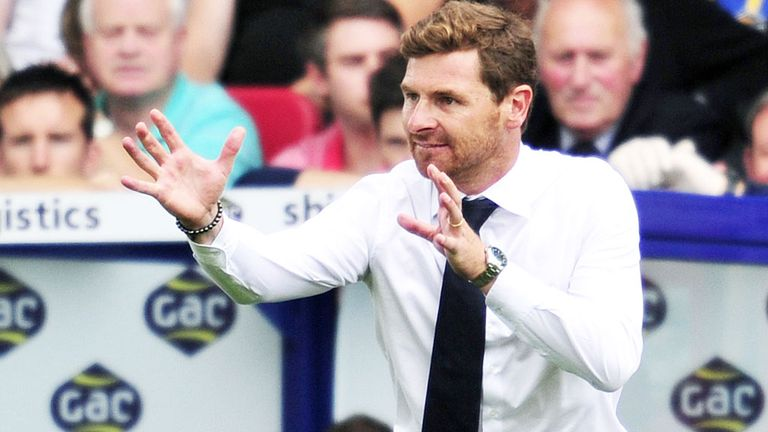 Andre Villas-Boas: Tottenham boss refused to go into detail regarding transfer activity