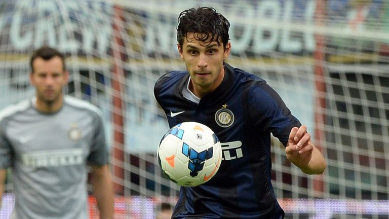 Andrea Ranocchia: Has his sights on Roma