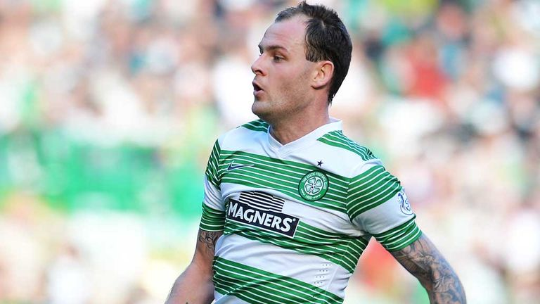 Anthony Stokes: Celtic striker scored a late winner against Dundee United