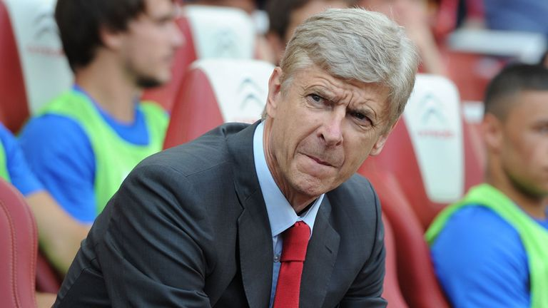 Arsene Wenger: Says Arsenal are 'a bit light'