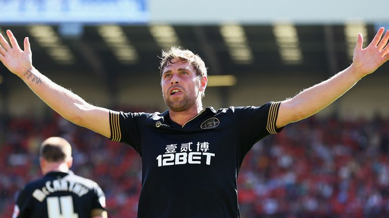 Grant Holt: Scored on his Wigan debut in a 4-0 win at Barnsley