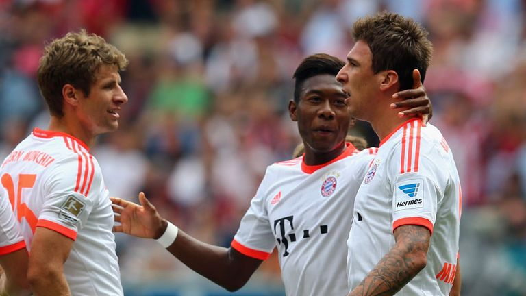 Bayern Munich edged to a narrow win at Frankfurt