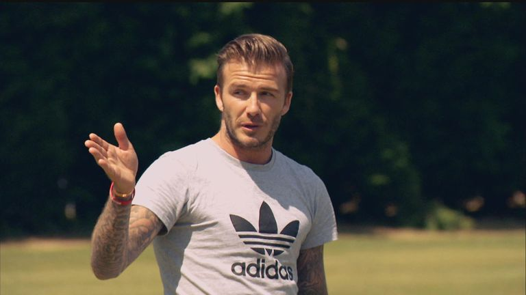 David Beckham: Former England captain has backed Roy Hodgson's squad