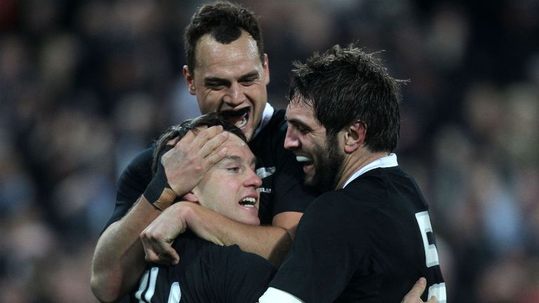 The All Blacks wrapped up the Bledisloe Cup