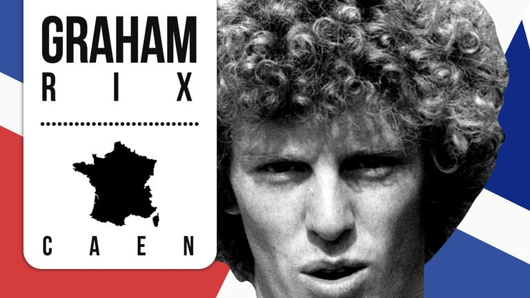 Graham Rix: Followed his long stay at Arsenal by playing in France for Caen