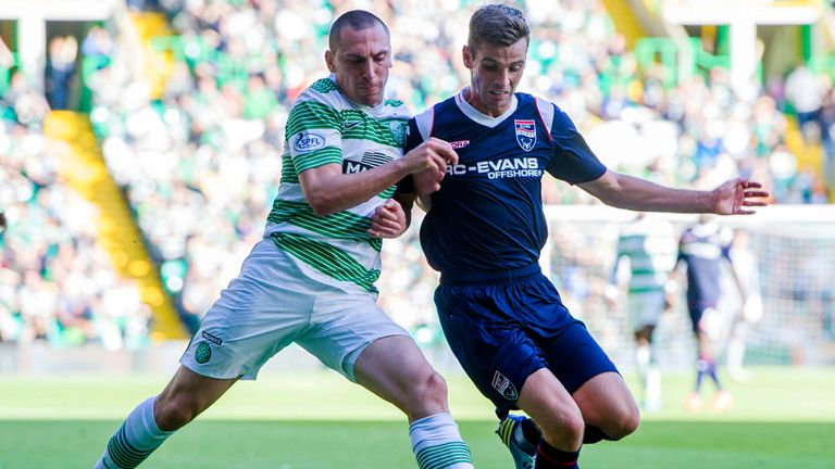 Scott Brown (left): Relishing European challenge