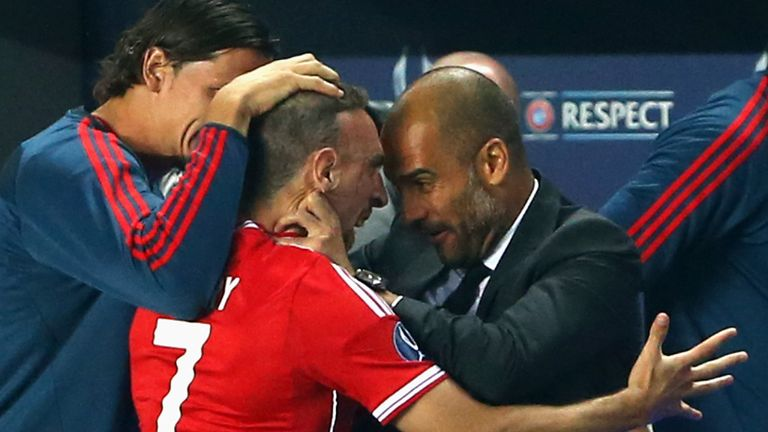 Pep Guardiola: Bayern coach felt his team deserved to win