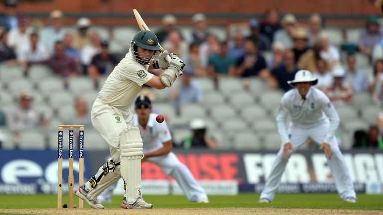 Chris Rogers: Scored 84 against England on day one at Old Trafford