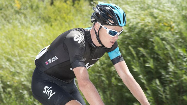 Chris Froome: Aiming to defend his Tour de France title in 2014