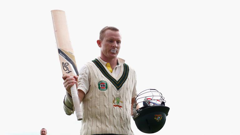 Chris Rogers: Defied the England attack at Durham