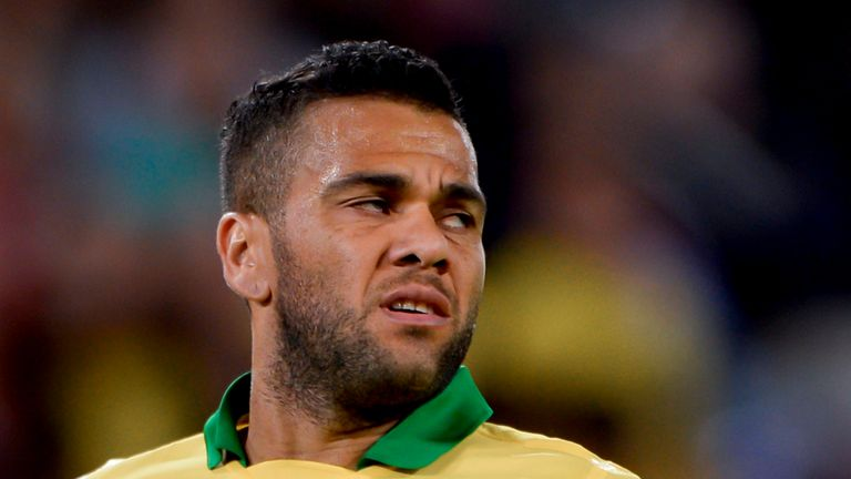 Dani Alves: Put through his own net