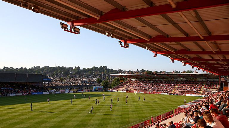 St James' Park: Home to Exeter City