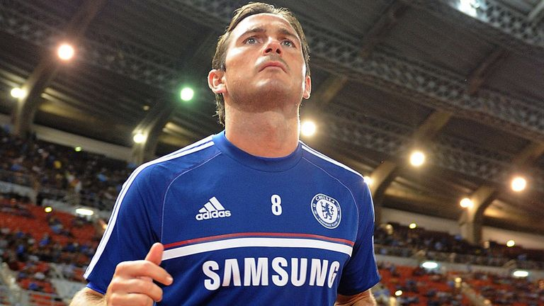 Frank Lampard: Working his way back to full fitness