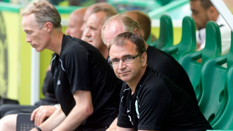 Pat Fenlon: Disappointed with 1-0 defeat against Motherwell