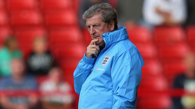 Roy Hodgson: Not hiding from the fact that England are under pressure against Ukraine