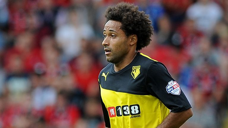 Ikechi Anya: Determined to improve at Watford