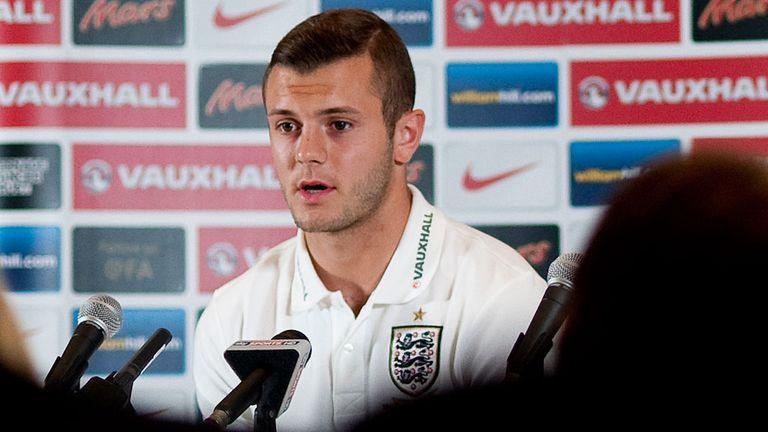 Jack Wilshere: Has had a 'stop-start' England career so far