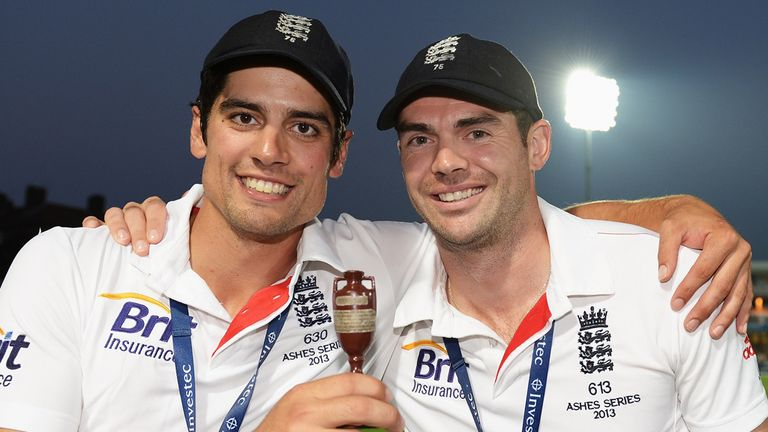 Holders: Alastair Cook is joint-favourite to make most England runs while James Anderson is likely to be their top wicket taker