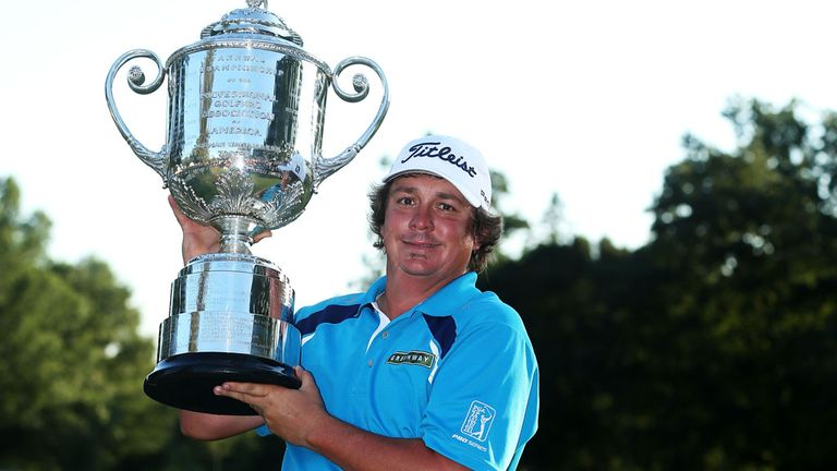 Jason Dufner: Landed the US PGA by two shots