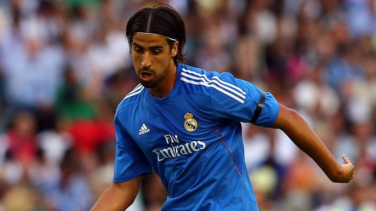 Sami Khedira: The midfielder's agent says he is not set for a Real Madrid exit