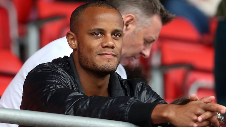 Vincent Kompany: Manchester City captain is recovering from a groin injury