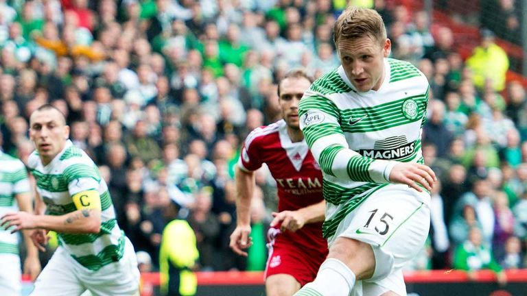 Krisn Commons: Scores from the penalty spot to give Celtic the lead in Aberdeen