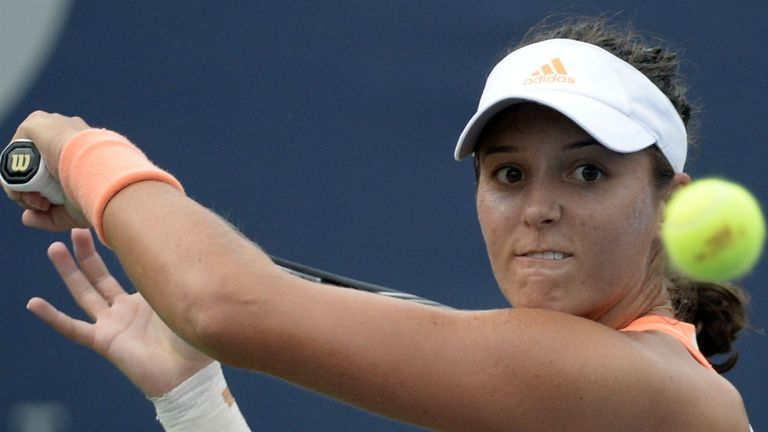 Laura Robson: Joined compatriot Johanna Konta in the last eight