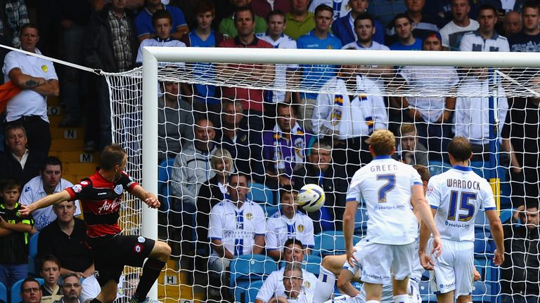 Clint Hill: Fires QPR ahead at Elland Road