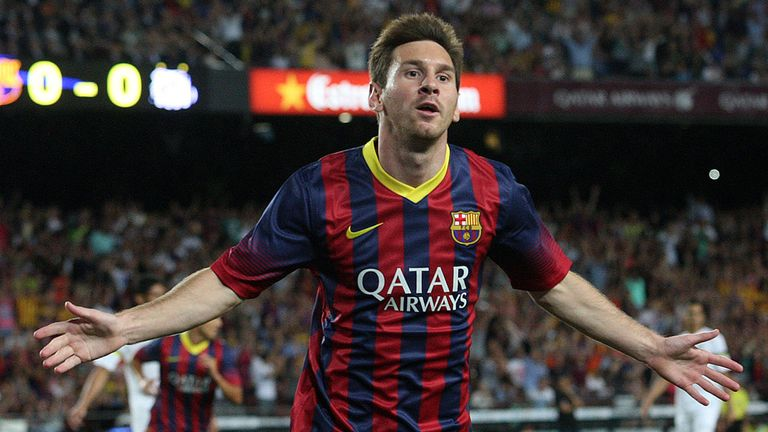 Lionel Messi - can he regain UEFA award for Europe's best footballer?