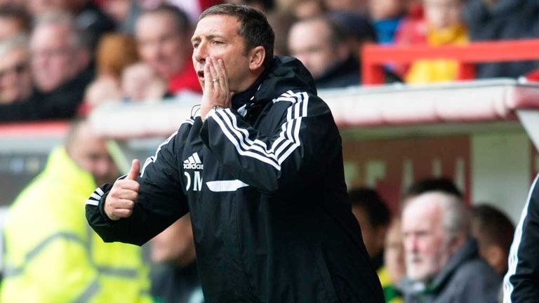 Derek McInnes: Wants a noisy Pittodrie during December