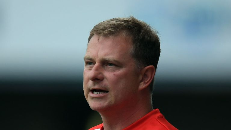 Mark Robins: Waiting for news on Hogg's injury