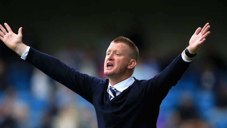 Steve Lomas: Still looking for first win
