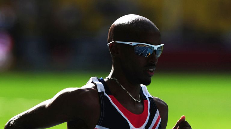 Mo Farah: Aiming for 'double-double'