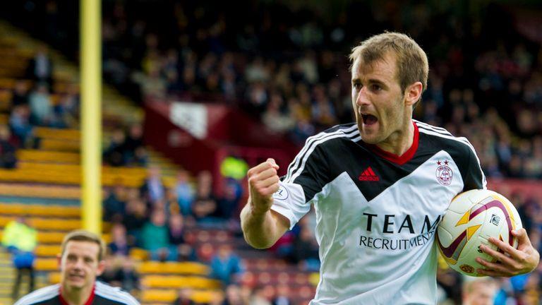 Niall McGinn: Two penalties earned Aberdeen victory