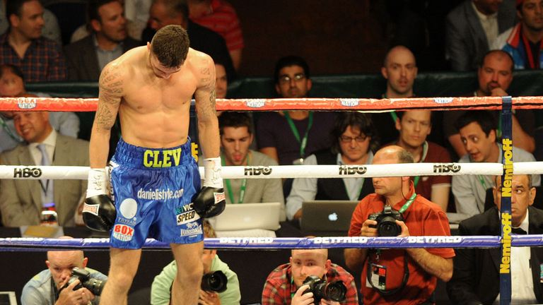 Nathan Cleverly: Lost his unbeaten record on Saturday night
