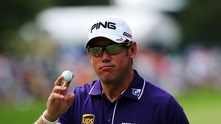 Lee Westwood: In action on final day at Oak Hill