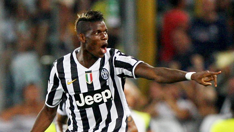 Paul Pogba: The midfielder has been praised by manager Antonio Conte
